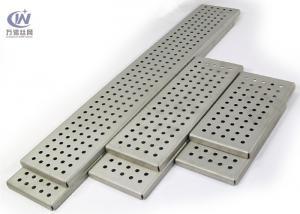 China Galvanized Steel Perforated Metal  with Folded Sides for Architectural Decoration on sale