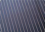 Le fil rayé professionnel a teint le tissu de coton pour la robe/chemise 100GSM