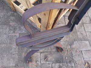 Fabulous Antique Cast Iron Garden Bench Legs With Wood Slats For Cast Ncnpc Chair Design For Home Ncnpcorg