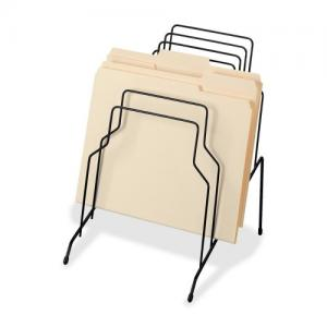 China Counter Top File Sorter Office Display Racks With Welded Wire Divider Structure on sale