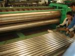 Folha do ferro ondulado da máquina da corrugação do tambor que faz a aprovação do CE da máquina