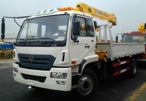 China High perfomance boom truck crane carbon steel main material on sale