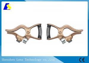 China Premium Mig Welder Ground Clamp , Submerge Earth Welding Cable Holder MMA Plasma on sale