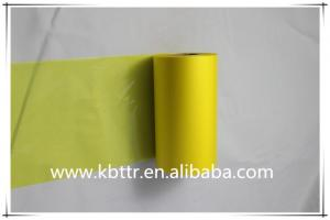 China Yellow wax thermal printer ribbon on sale