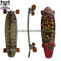 Longboard 34 INCH (86cm) canadian maple wood with 9 layers ABEC-11 High Speed bearings / Big Wheels 64*45mm