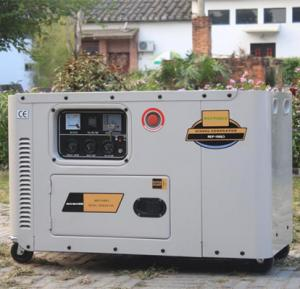China 10kva portable silent diesel generator set on sale