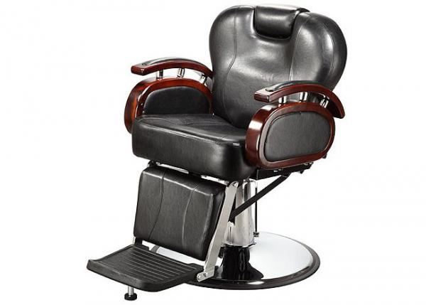 reclining backrest salon barber chair brown with pu leather rh salonbarberchair sell everychina com