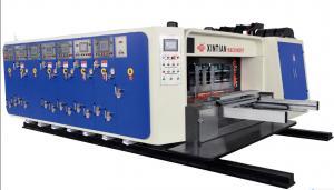 China Máquina de fabricación de cartón de la alta precisión 15kw - 30kw con la transmisión del acero de aleación 20crmnti on sale