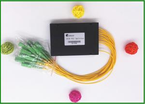 China SC / APC Fiber Optic PLC Splitter Low excess loss 1x16 ports  for PON CATV supplier