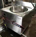 18KW Commercial Induction Cooker For Cooking Soup With 90l Pot