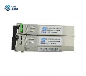 China 10g sfp bidi module 80km 10gb SFP+ transceiver ShenZhen manufacturer on sale