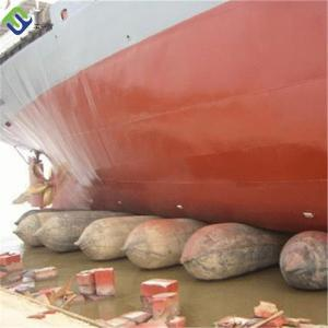 China Floating inflatable boat airbag, ship launching airabg on sale