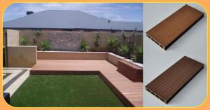 China wpc decking,flooring/ anti-slip and eco-friendly for any size,colour outdoor material on sale