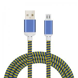China Fast charging USB Data Cable , Iphone Charging Cable 2.4A USB Phone cable on sale