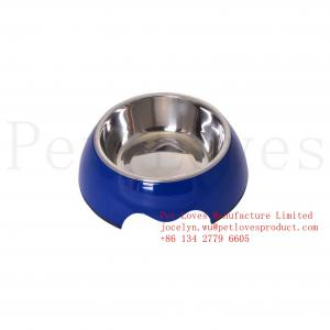 China 100% Melamine Dog Bowl Pet Products Easy Pet Feeder for Tchibo on sale