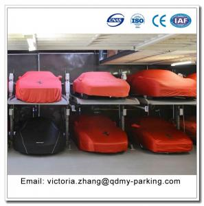 2 Post Easy Parking Lifts 2 Vehicles Parking Basement Parking System