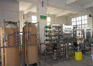 China Two Stage Ultrapure Water System Industrial RO Water System 2TPH With UV Ozone on sale