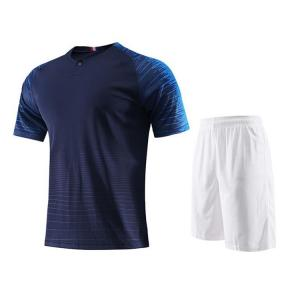 China Custom sublimation blank soccer jersey kits with customer's logo on sale