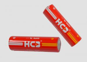 China Primary Lithium Li-SOCl2 Cylindrical Batteries AA model ER14505M 2100mAh on sale