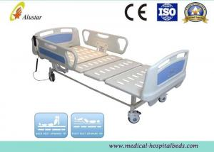 China Foldable Steel Hospital Electric Beds ABS Electric Nursing Bed With Two Function (ALS-E202) on sale