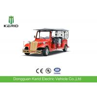 China Chinese Red Electric Ancient Car 5KW AC Motor Classic Sightseeing Vehicle on sale