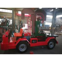 Mobile Vertical Band Sawmill with Table Diesel Engine powered Truck Loading Move