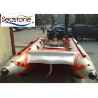 ST-SGS450 Inflatable Sailing Catamaran Small Gas Outboard 7 Persons Capacity