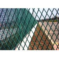 China Powder Coating Expanded Metal Screen , Steel Mesh Sheet For Building on sale