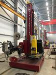 Weld Automation Column And Boom Manipulators With Moving Trolley And Flux Transmission System