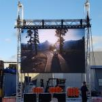 Full Colour Led Video Wall Rental , Outdoor Led Screen For Car Show / Stage