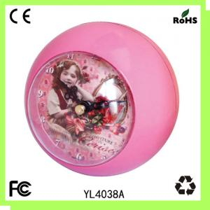 China Plastic gift clock/wall clock/square clock/table clock on sale
