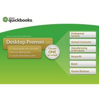 Genuine QuickBooks Desktop Premier 2018 with Industry Edition Small Business Accounting Software 1-Year Subscription