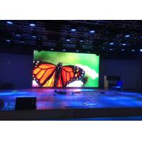 China High Brightness P4 Smd Large Led Screen Rental For Stage , Super Clear Vision on sale