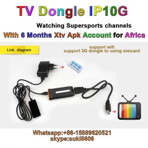 DSTV IPTV dongle IP10G for Africa with 6month account supersport