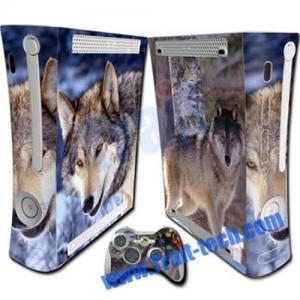 China XBOX360 Skin Sticker with Wolf Pattern on sale