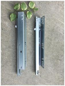 China Single Extension Undermount Soft Close Drawer Slides , Kitchen Drawer Hardware Slides Durable on sale