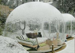 China Outside Transparent Bubble Room Tent 3M / 4M / 5M / 6M Dia Or Customized Size on sale