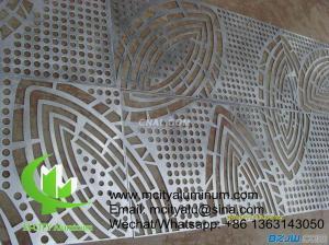 China Architectural aluminum cladding sheet facade wall panel exterior building facade for outdoor facade on sale