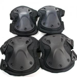 China SWAT Style Knee And Elbow Pads Set, Made Of Durable Nylon And High Impact Polymer on sale
