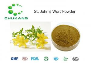 China St Johns Wort Powdered Herbal Extracts Hypericum Perforatum L Food Ingredients on sale