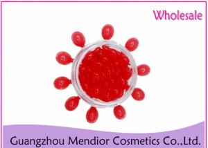 China EGF Red Skin Care Capsules Whitening / Lightening Arbutin Essence For Face on sale