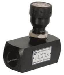 China Casting hydraulic pressure directional control  relief valves,  pressure regulating valve on sale