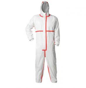 China Water Resistant Disposable Protective Coverall For Home Improvement Workers on sale