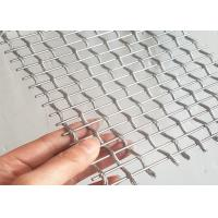 Stainless Steel Architectural Wire Mesh For Exterior Decorative Railings