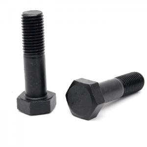 China Grade 8.8 10.9 B7 Left Hand Thread Hex Head Bolts For Structural Steel Hexagon Head on sale