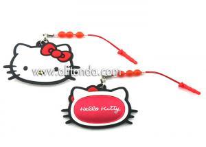 China Hello Kitty animal shape Handful Plush Stuffed Doll Cleaner Mascot Phone Accessories Plush Screen Cleaner on sale