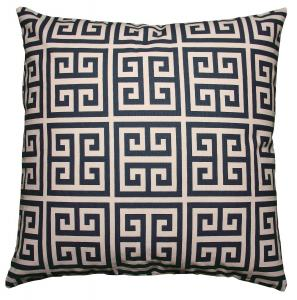 China Navy Blue Polyester / Fleece Pillow Cushion Covers Couch Throw Pillows Decorative Pillows on sale