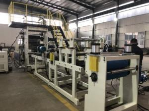 China High Efficiency Fireproof Furniture Edge Band Rigid PVC Sheet Extrusion Line on sale