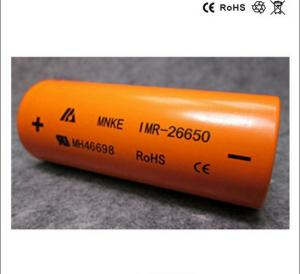 China Bateria de alta qualidade de Rechargable do lítio do IMR 26650 3.7V 3500mAh do original MNKE!! parte superior lisa on sale