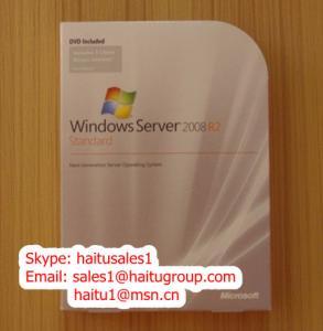 China Windows server 2008 standard 5Clt, 10Clt, 25Clt, with OEM key and FPP key on sale